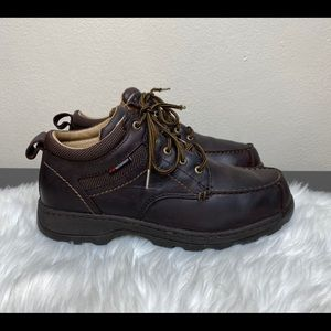 Red Wings Chukka Boots Brown Leather Waterproof